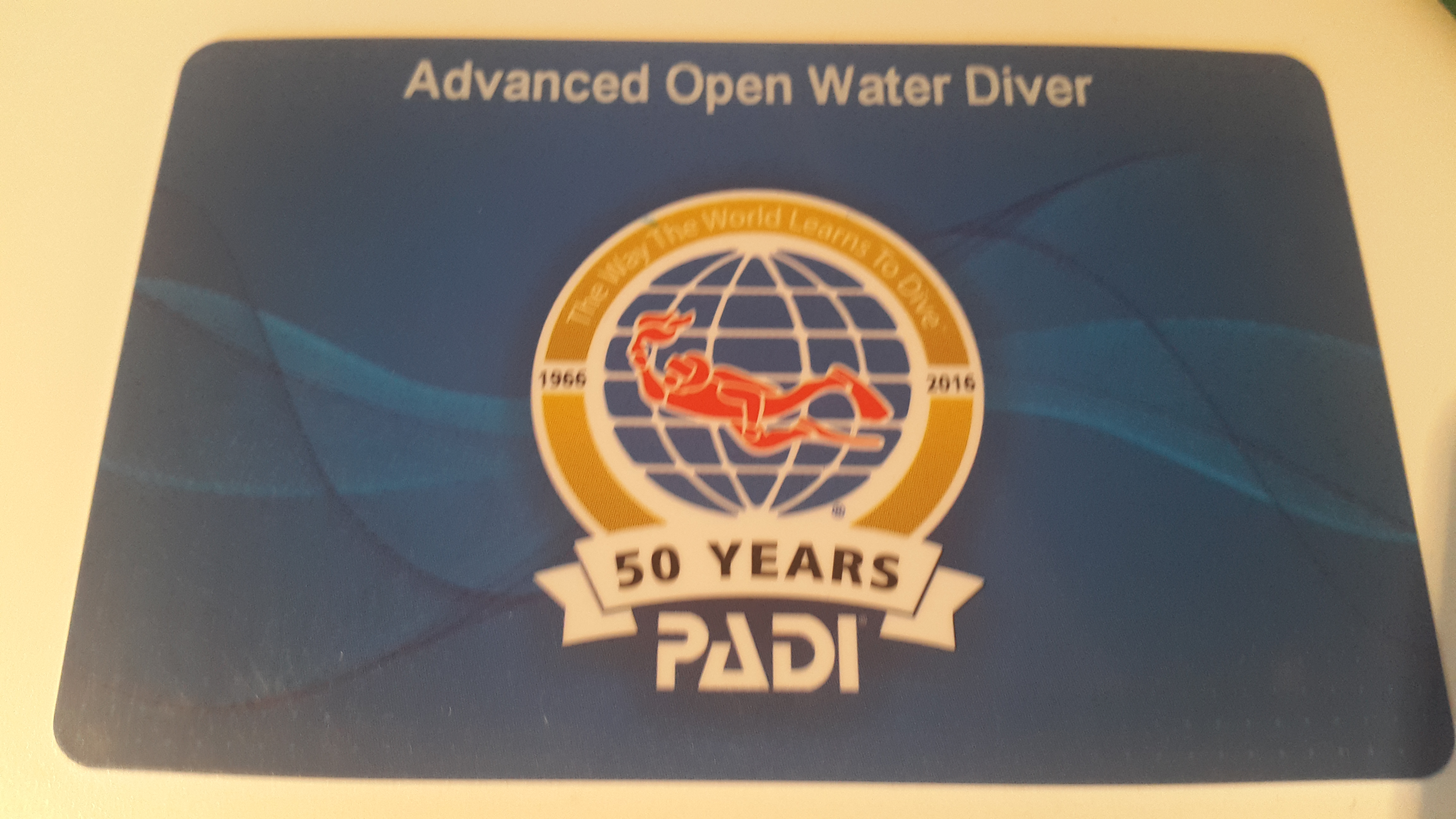 PADI Advanced Open Water Diver med Dykhuset