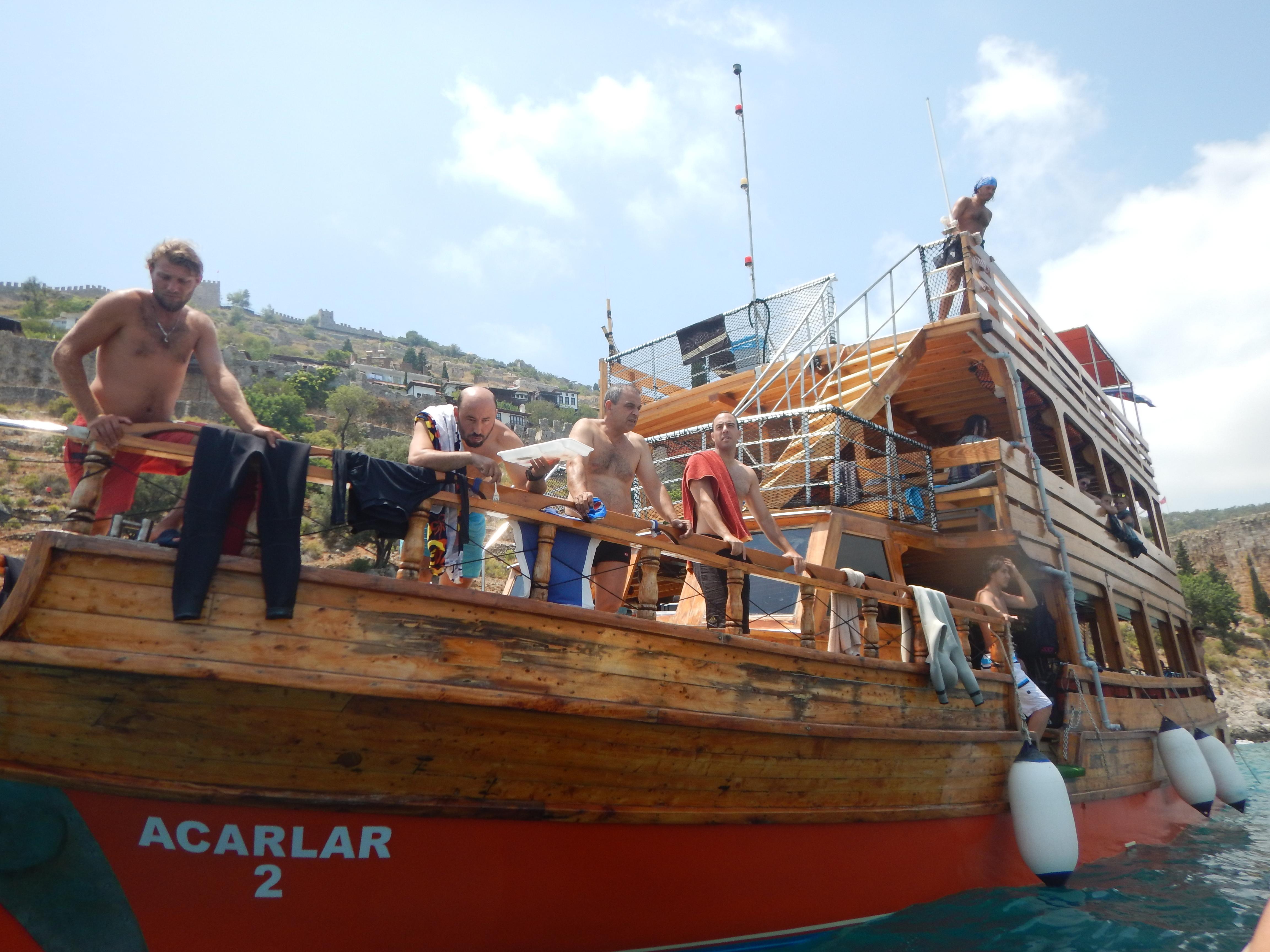 Dykning i Alanya – Turkiet